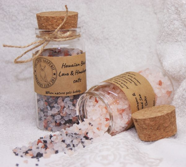 Himalayan salts hawaiian salts bath salts wholesale bath salt natural salts black lava salts