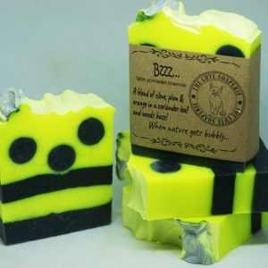 Bzzz soap coconut oil olive oil cocoa butter handmade natural soap uk handmade soap Scotland homemade soap cold process soap wholesale