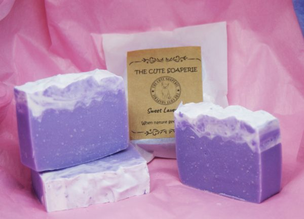 Sweet lavender lavender essential oil natural soap handmade soap uk olive oil cocoa butter wholesale soap uk