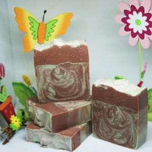 Choco-mint cute soap handmade natural soap uk olive oil coconut oil avocado oil jojoba oil wholesale uk