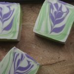 Frozen Orchid Cold Process Soap Making